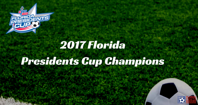 Florida Presidents Cup Champions