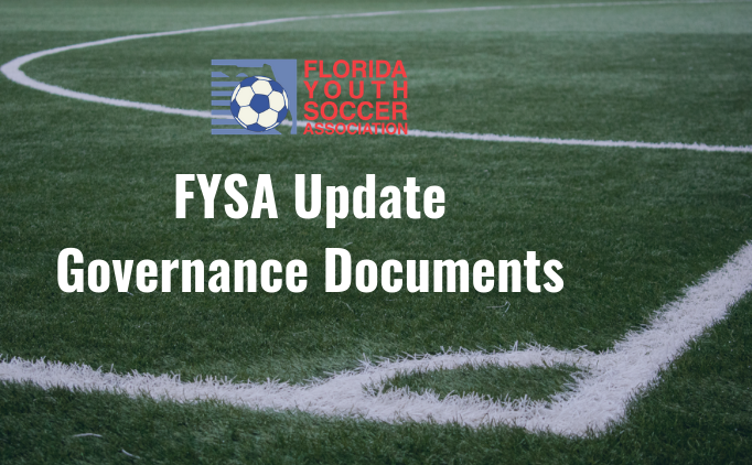Proposed Changes to FYSA Governance Documents