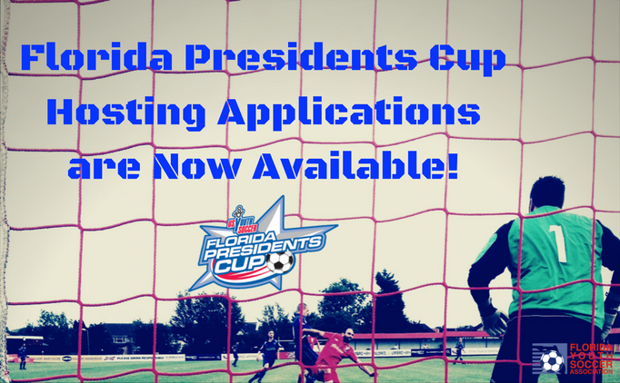 Florida Presidents Cup Hosting Applications
