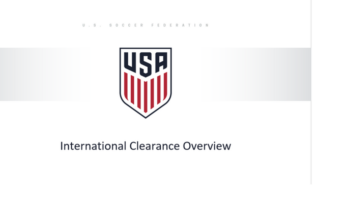 International Clearance Overview