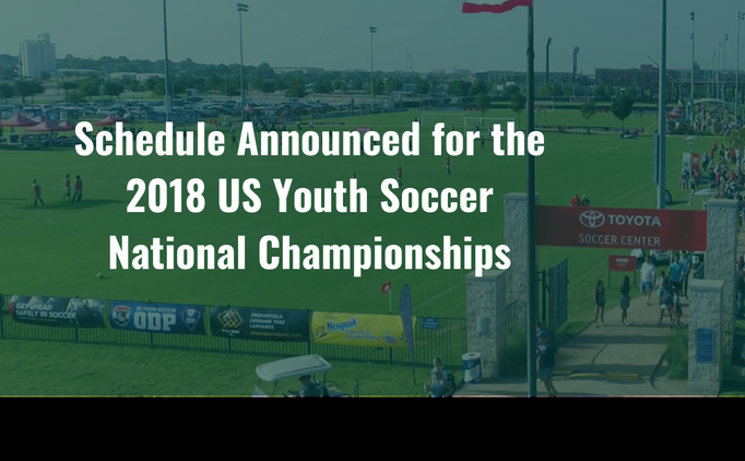 Schedule Released for National Championships