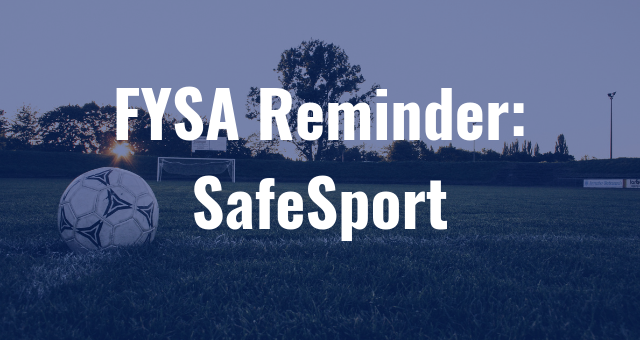 SafeSport Reminder