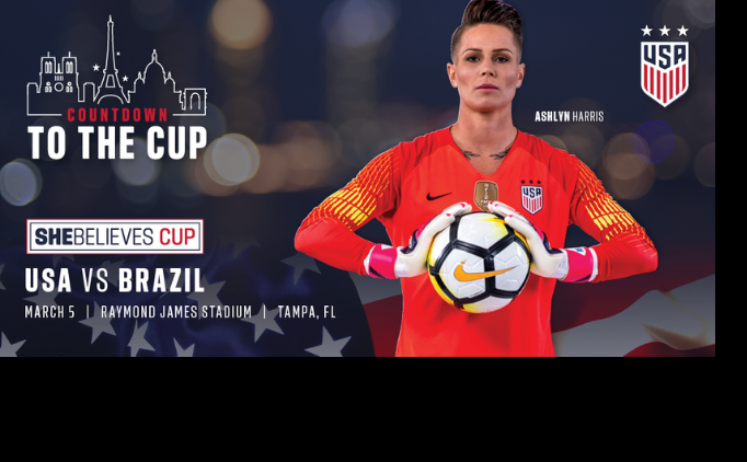 2019 SheBelieves Cup Returns to Florida!