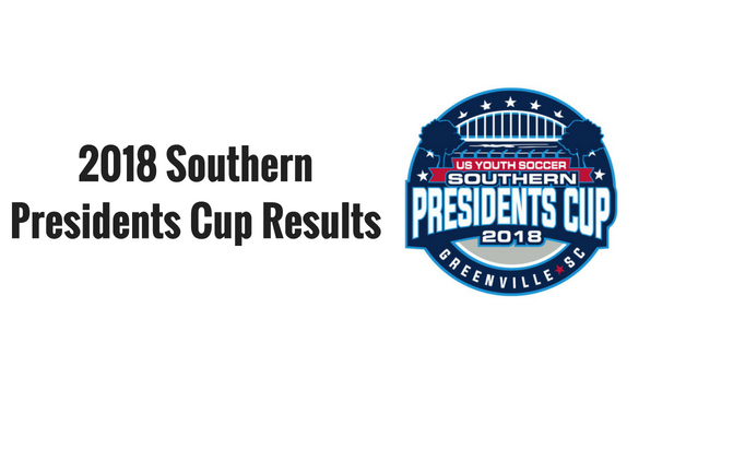 2018 Southern Presidents Cup - By Age Group