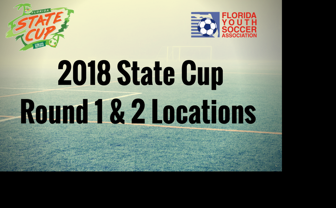 2018 States Cup Sites