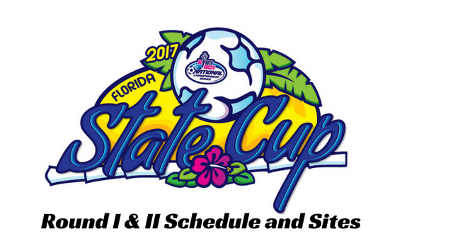 State Cup Schedule and Sites