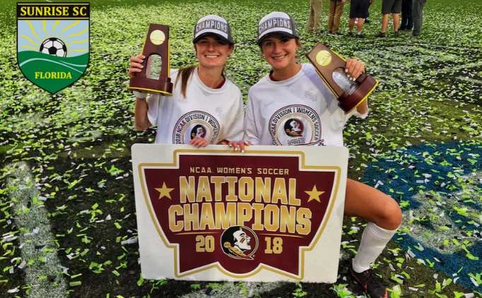 Sunrise Soccer Player Leads FSU to Championship