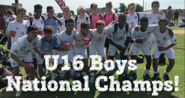 Congratulations to the 16U Boys Team from TBU!