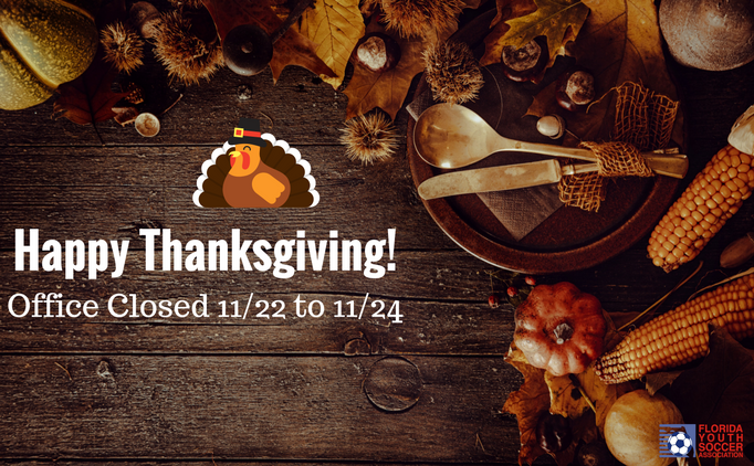 Happy Thanksgiving From FYSA!