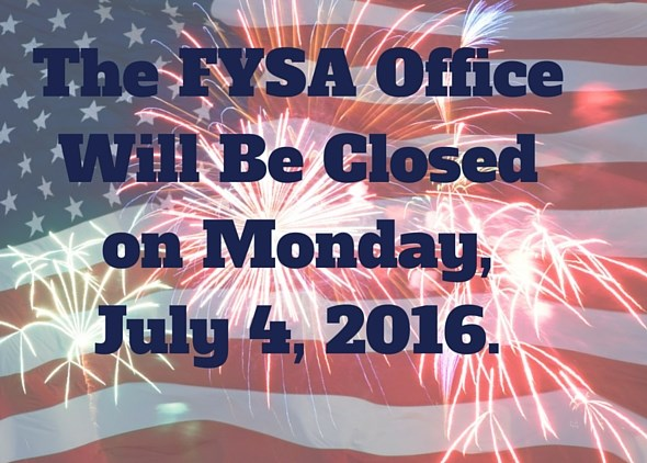 FYSA State Office Closed