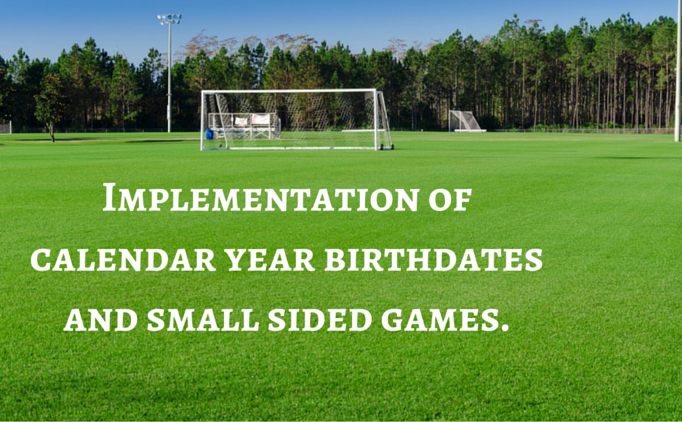 Calendar Year Birthdates and Small Sided Games