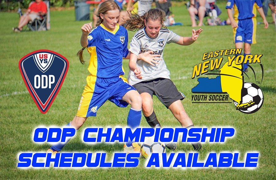 ODP CHAMPIONSHIP SCHEDULES