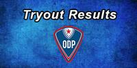 ODP Tryout Results