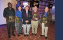 Four Refs Honored By the New York Metro Intercollegiate Soccer Officials...