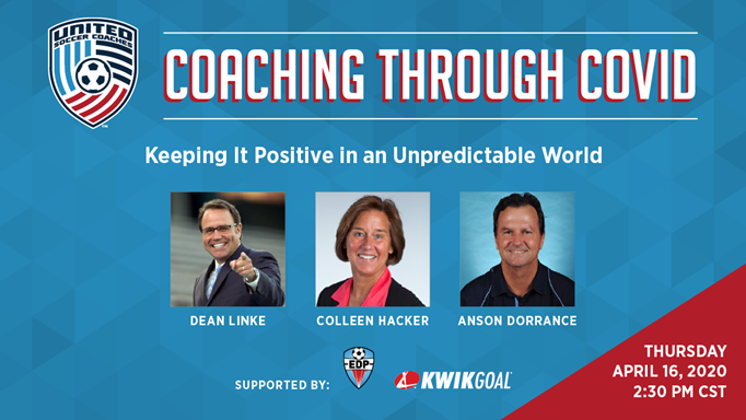 Attend the United Coaches Webinar!