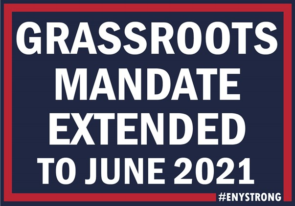Grassroots Mandate Deadline Extended