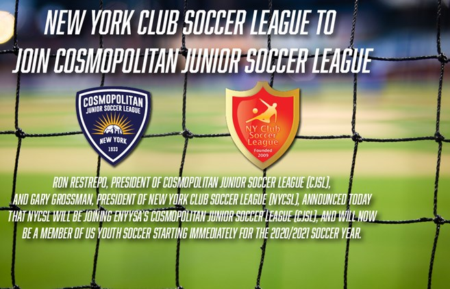 New York Club Soccer League joins CJSL!