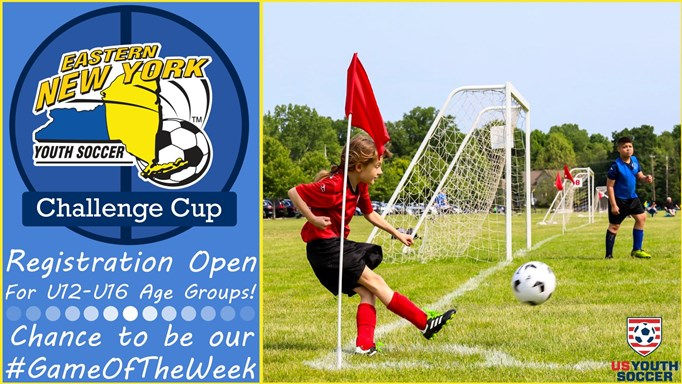 U12-U16 Challenge Cup Registration Open