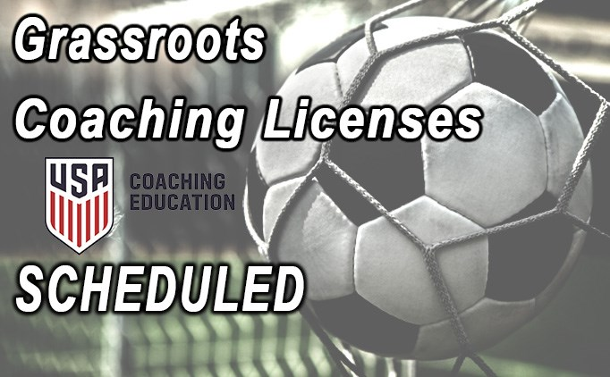 GRASSROOTS LICENSES SCHEDULED