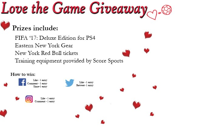 The Love the Game Giveaway Returns!