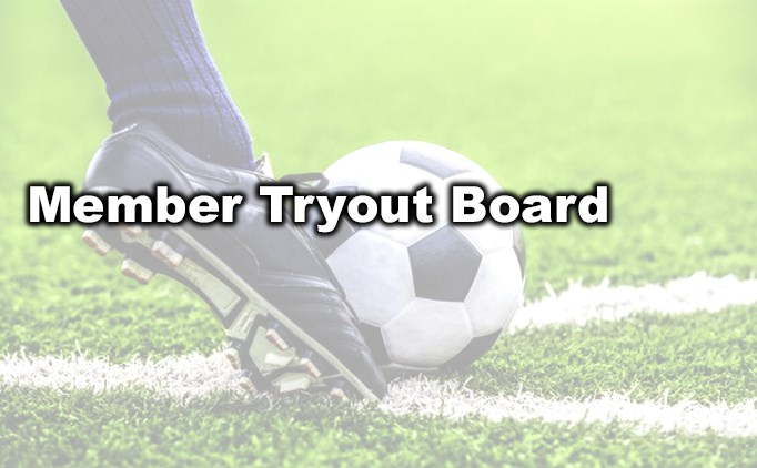 ENYYSA Member Tryout Board