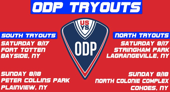 ODP Tryouts Announced!