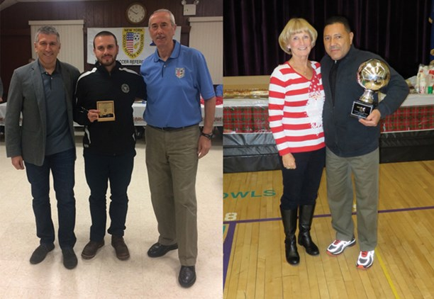 20 Refs Honored in Eastern New York