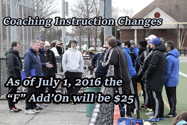 Changes Coming to Coaching Instruction