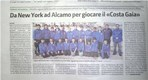 Article in the Sicily News paper ...Pic taken in Castelllammare Del Golfo