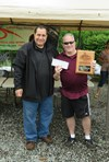 BU19 Rough Riders Massapequa SC Winner Championship Cup Mike presents $2000 Check to Coach