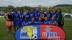Girls U18 Lightning Lake Grove SC Runner Up Championship Cup