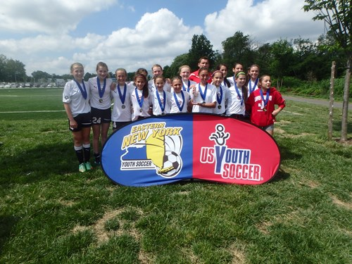 GU12 Finalists AlleyCats Red U12