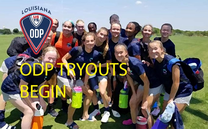 ODP Tryouts to Begin - Register Today
