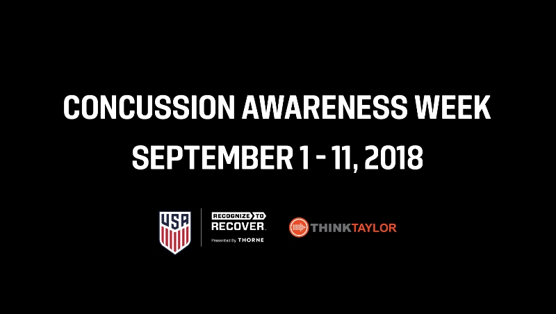 2018 Concussion Awareness Week