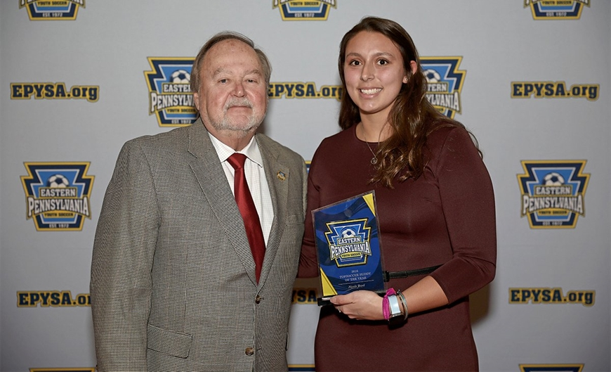 Nicole Boyd- TOPSoccer Buddy of the Year