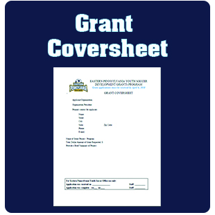 Grant Cover Sheet button