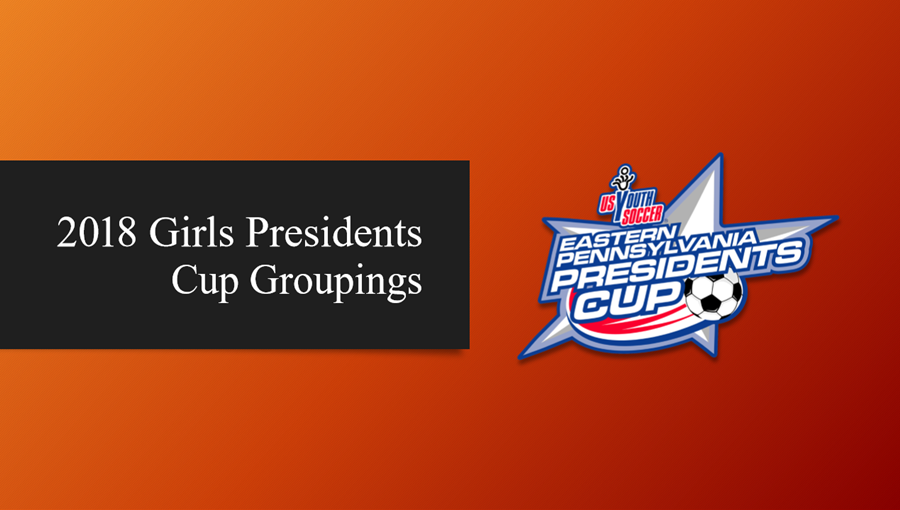 2018 Girls Presidents Cup Groupings