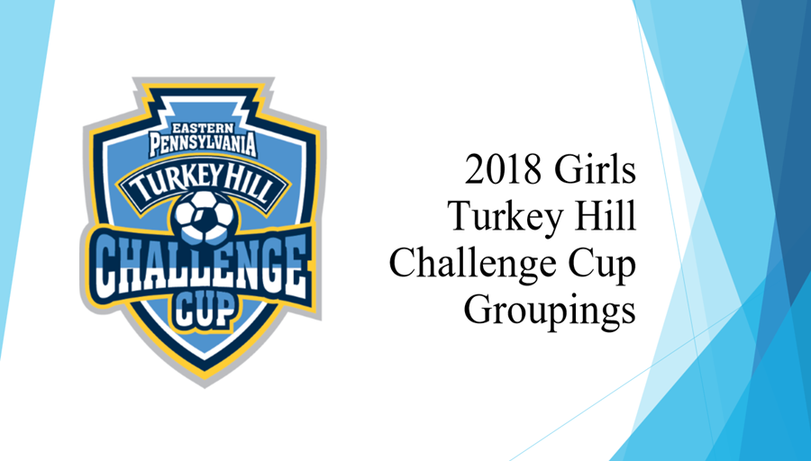 Challenge Cup Girls Groupings 2018