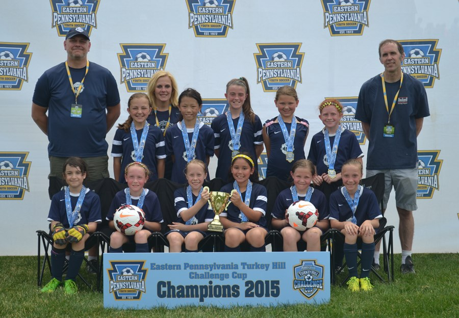 Challenge Cup U10 Girls B- North Union Strikers