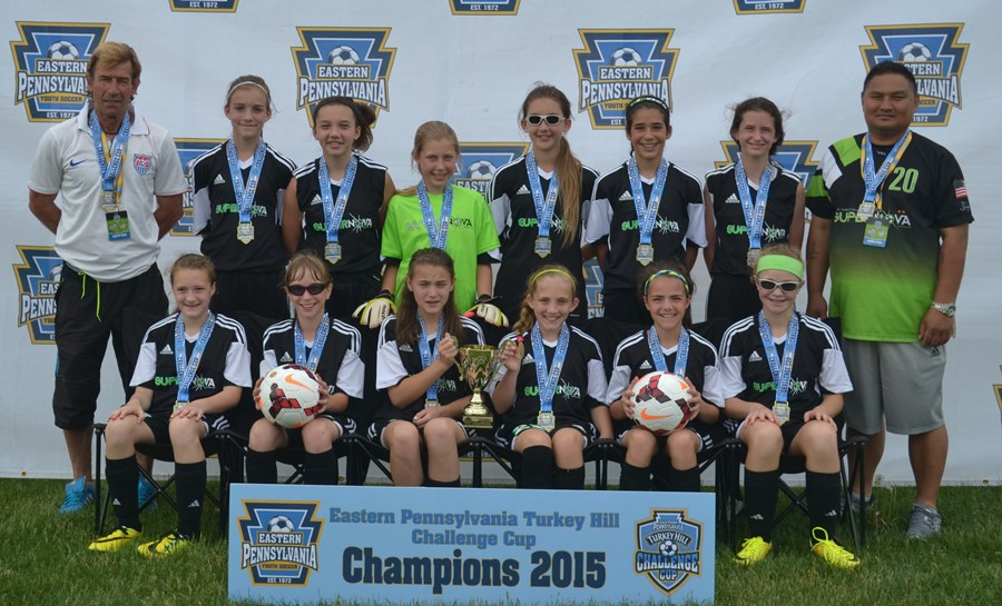Challenge Cup U12 Girls- Super Nova FC