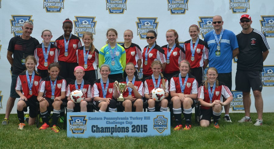 Challenge Cup U13 Girls- Parkwood Independence