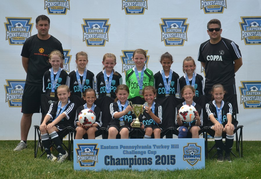 Challenge Cup U9 Girls A- Coppa United