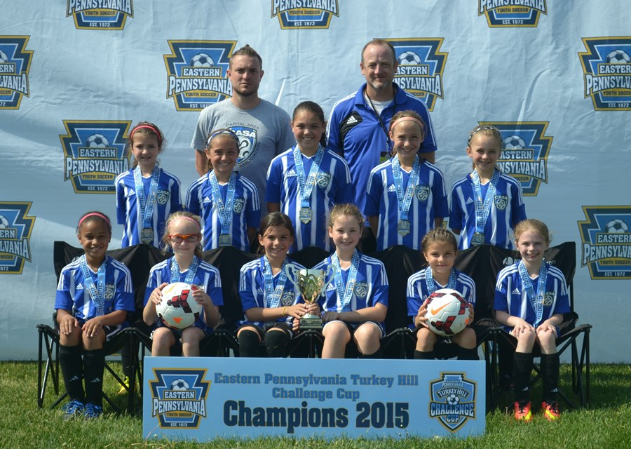 Challenge Cup U9 Girls B- CASA Fire