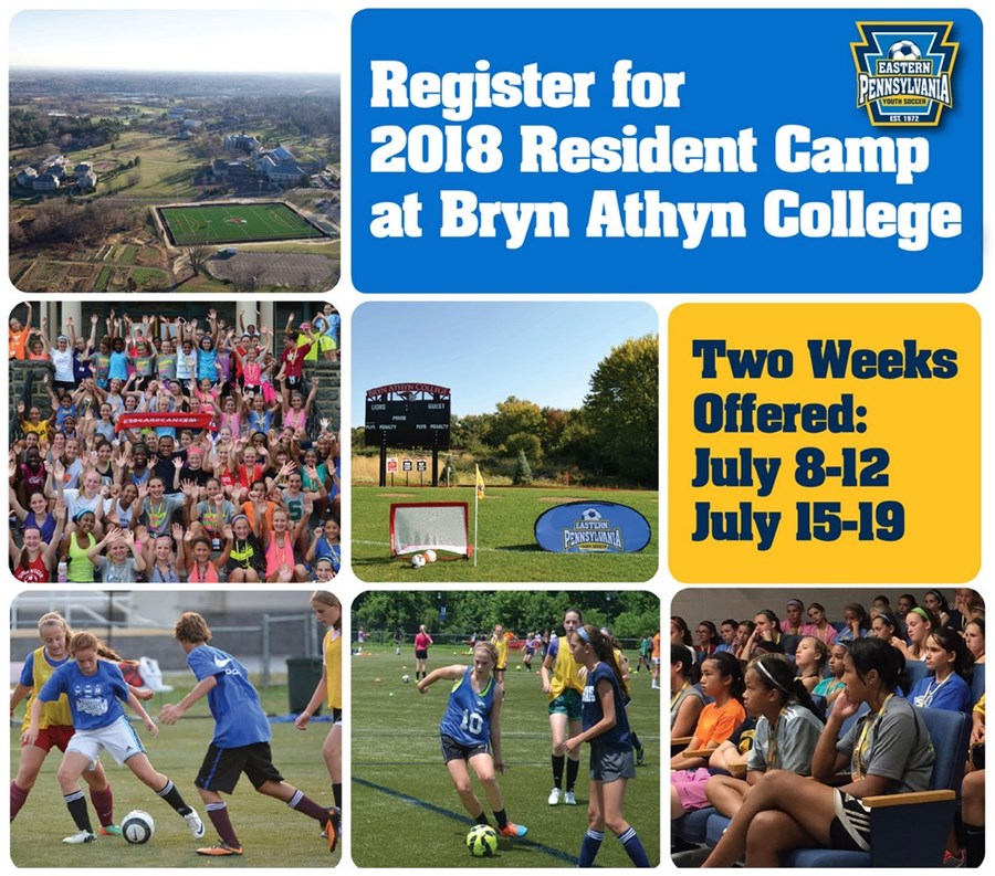 Resident Camp at Bryn Athyn 2018 web page