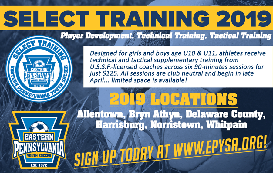 Select Training 2019 graphic
