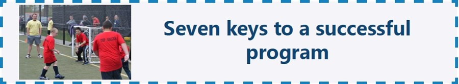 Seven Keys to a Successful Program updated update