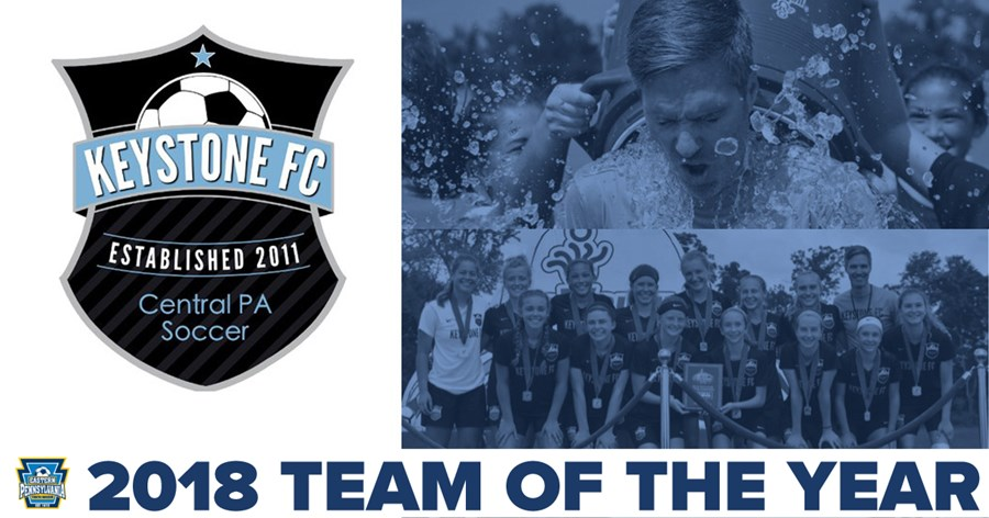 Team of the Year Graphic Keystone FC