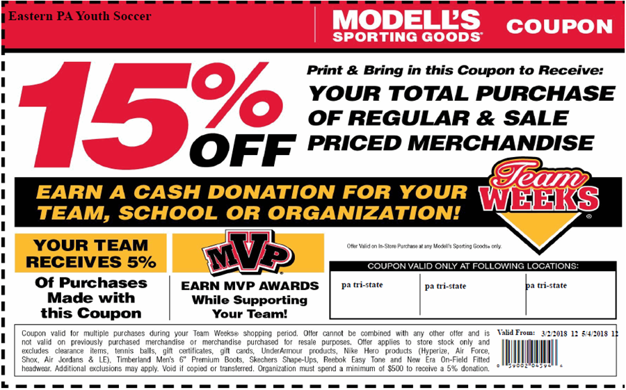 Team week coupon 3-2-2018