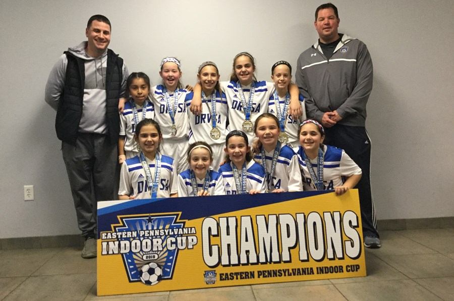 U10 Girls Challenge Blue - Deep Run Valley Classic Blue