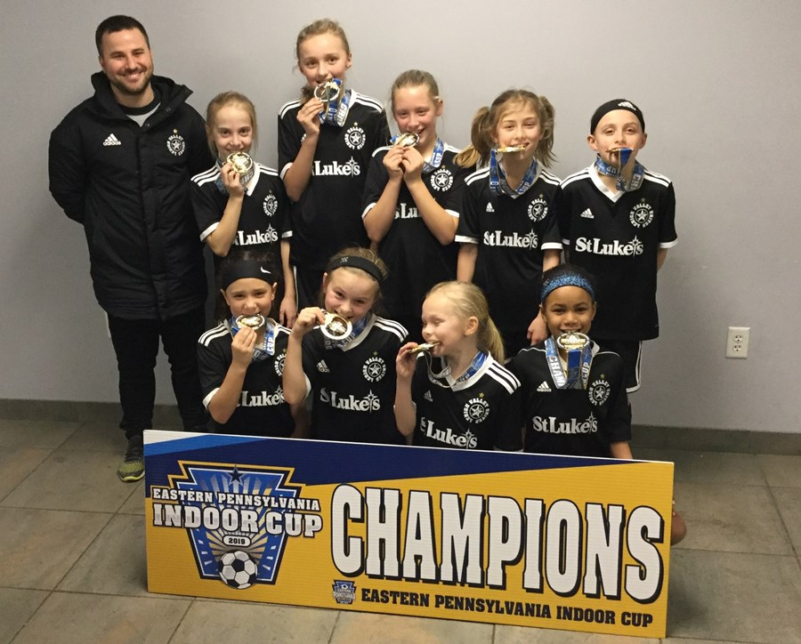 U10 Girls Challenge White - Lehigh Valley United Black
